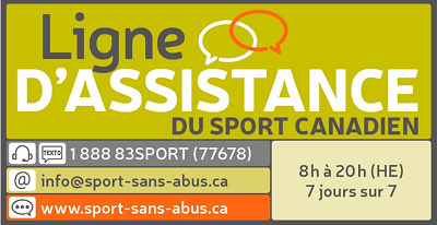 Canadian sport help line